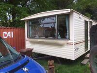 2002 Carnaby Chardonnay Static Caravan 32 x 12 2 bedrooms good condition