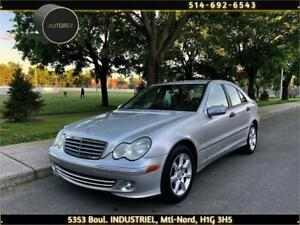 2005 MERCEDES BENZ C230, AUTOMATIQUE, CUIR, MAGS, 4 CYLINDRES