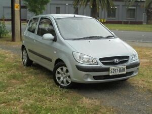 2009 Hyundai Getz TB MY09 SX Space Silver 4 Speed Automatic Hatchback Albert Park Charles Sturt Area Preview