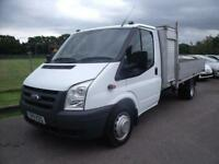 FORD TRANSIT 140 T350L RWD - DROPSIDE - White Manual Diesel, 2011