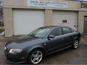 2008 Audi A4 2.0T-AWD-SUNROOF-LEATHER-LOADED