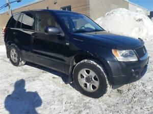 ***2007 SUZUKI GRAND VITARA***AUTOMATIQUE/V6/AWD/!!BAS KM!!
