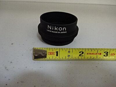 Microscope Part Nikon Japan Stereo Objective 10x Optics As Is Al-76