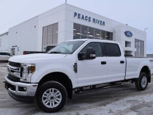 2018 Ford F-350 XLT 4x4 SD Crew Cab 8 ft. box 176 in. WB SRW