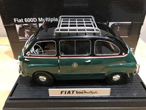1/18 Diecast Unique Replicas Fiat 600D Multipla Taxi