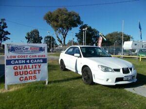 2006 Subaru Impreza MY06 2.0I (AWD) White 4 Speed Automatic Sedan Maddington Gosnells Area Preview