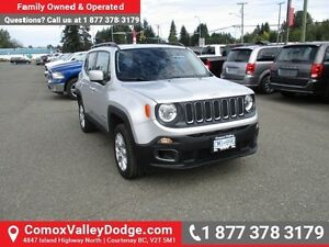 2015 Jeep Renegade North Company Demo, Low Kms, 4X4, Remote S...