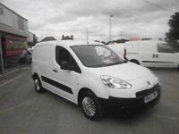 Peugeot Partner L1 850 S 1.6 Hdi 92 Van DIESEL MANUAL WHITE (2013)