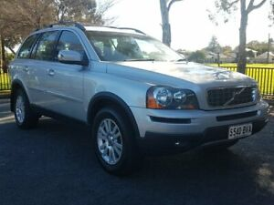 2007 Volvo XC90 P28 MY08 D5 Silver 6 Speed Sports Automatic Wagon Blair Athol Port Adelaide Area Preview