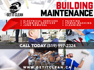 Get it Clean - Professional Maintenance and Cleaning - Landlords