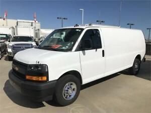 2018 Chevrolet Express 2500 cargo van Extended camera V6 15.000