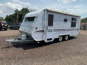 Regent Cruiser series 2   24foot Caravan Holtze Litchfield Area Preview
