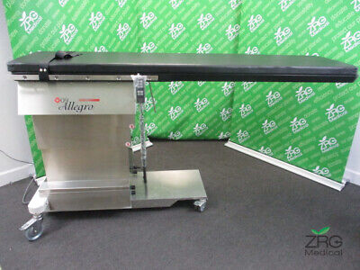 Mizuho Osi Allegro 6862 C-arm X-ray Surgical Table W Hand Control