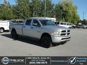2013 DODGE RAM 3500 CREW CAB LONG BOX 4X4 1 TON DIESEL
