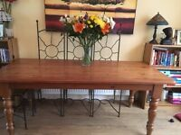 6.6ft Pine Dining Table
