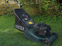 Serviced Hayter Harrier 41 self propelled with roller petrol mower with box ( Autodrive )