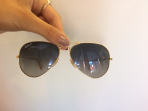 Perfect condition polarized Ray Ban