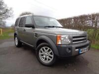 2008 08 LAND ROVER DISCOVERY 2.7 3 TDV6 XS 5D AUTO 188 BHP DIESEL