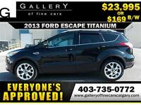 2013 Ford Escape TITANIUM $169 Bi-Weekly APPLY NOW DRIVE NOW