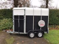 Wessex double horse trailer