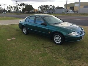 1998 Ford Falcon AU Futura Green 4 Speed Automatic Sedan Wangara Wanneroo Area Preview