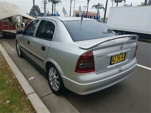 2003 Holden Astra TS CDX Silver 4 Speed Automatic Sedan Lansvale Liverpool Area Preview