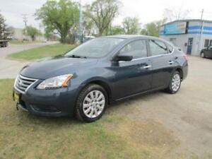 2013 NISSAN SENTRA, HAS SAFETY AND WARRANTY $7,950