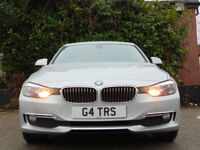 BMW 3 SERIES 2.0 320D LUXURY 4d (silver) 2013