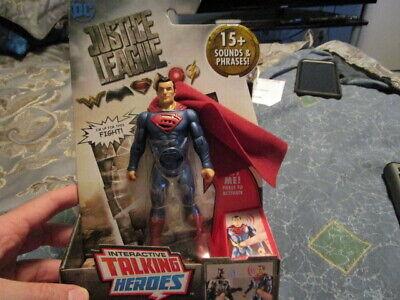 Mattel - DC Justice League Interactive Talking Heroes - Superman