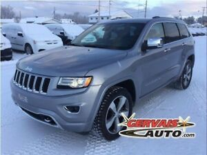 Jeep Grand Cherokee Overland Diesel 4x4 GPS Cuir Toit Panoramiqu