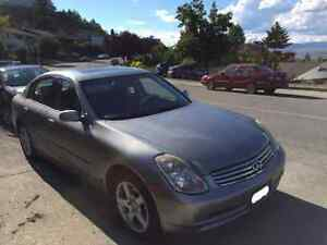 2006 Infiniti G35 N/A Sedan