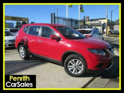 2015 Nissan X-Trail T32 ST Red Constant Variable Wagon