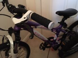 Girls Carrera Luna Bicycle.