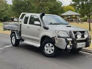 2011 Toyota Hilux KUN26R MY12 SR5 Xtra Cab Silver 5 Speed Manual Utility Hillcrest Port Adelaide Area Preview