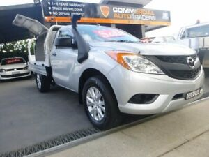 2013 Mazda BT-50 UP0YD1 XT 4x2 Silver 6 Speed Manual Cab Chassis Merrylands Parramatta Area Preview
