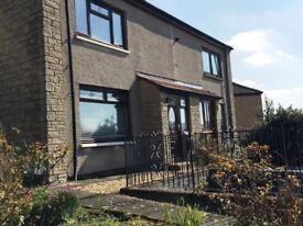 Lovely 2 Bedroom Semi Detached House unfurnished. Glen Village, Falkirk - Avail. January £495/month