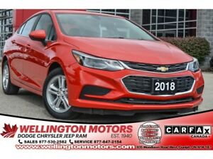 2018 Chevrolet Cruze LT .. Back-Up Cam / Bluetooth Audio / No Ac