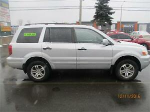 2004 HONDA PILOT EXL 4X4 SUV 8 PASSENGER LEATHER  ROOF AWD