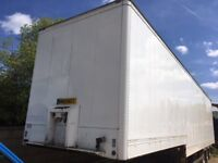 4m Montracon 45ft Tri Axle Alloy Stepframe Box Trailer with 3/4 Cantilever Tailift .. Air Susp