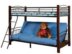GREAT VALUE BUNK BEDS SOLID WOOD & STEEL BUNK BED! All Sizes