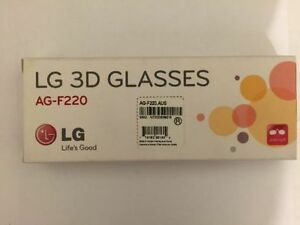 New 3D glasses LG AG-F220 Clip On