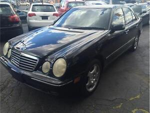 2002 Mercedes-Benz E-430-4 MATIC-EASY LOW PAYMENTS-CERTIFIED