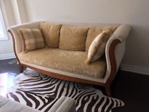 Super Swanky THOMASVILLE Sofa- BRAND NEW CONDITION!!!