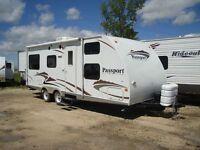 26 foot, keystone passport trailer for sale, sleeps 10