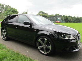 2011 (11) Audi A3 2.0TDI ( 140PS ) Sportback Black Edition **FINANCE ARRANGED**