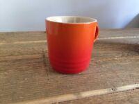 Le Creuset Espresso Mugs - Volcanic Orange x3