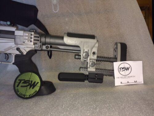 Rifle Monopod adjustable folding picatinny Rail mount Hex foot bolt action