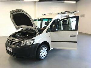 2011 Volkswagen Caddy 2K MY11 Life TDI250 White 5 Speed Manual Wagon Frankston Frankston Area Preview