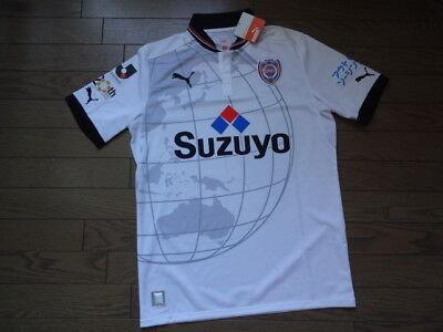Shimizu S-Pulse 100% Official Original Jersey L NWT 2012 Away J-League  image