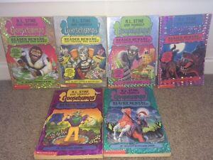 Goosebumps Reader Beware You Choose the Scare books x 6 R L Stine Charlestown Lake Macquarie Area Preview
